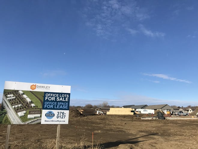 A growing commercial development in eastern Sioux Falls will soon add a two-story office building from Trademark Homes