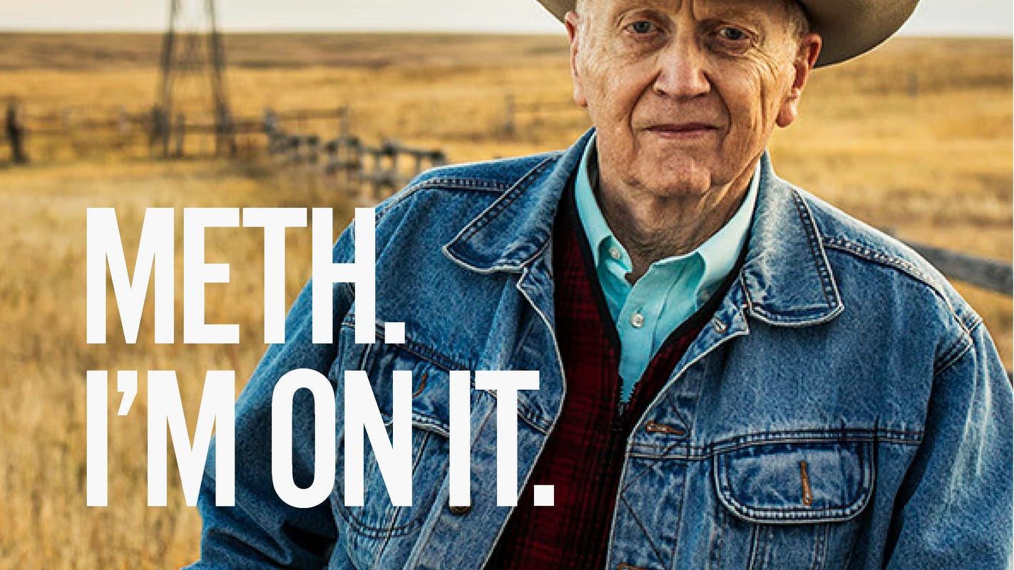 'Meth. We're On It.': South Dakota spends $449K on new anti-meth ad campaign