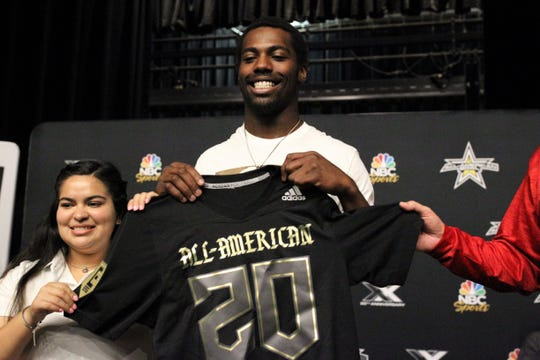 Wakulla senior linebacker Keyshawn Greene, a four-star prospect committed to Florida State, was named a U.S. Army All-American on Monday, Nov. 18, 2019 during a ceremony at Wakulla High School.