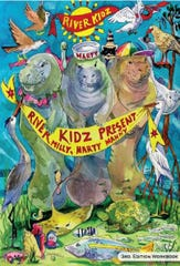 Third edition of the River Kidz Workbook features manatees Milly, Marty and Manny.