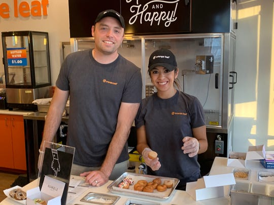Steve and Karina Shaw are the owners of the new Humble Donut Shop on the East Side.