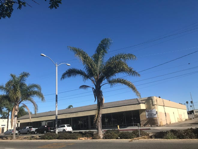 The Saviers Road property that was once a Salvation Army store in Oxnard is slated to become a homeless shelter.