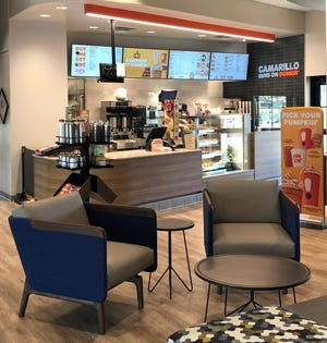 Make a bank deposit and grab a donut in the same place? Camarillo residents can at this newly remodeled credit union branch.