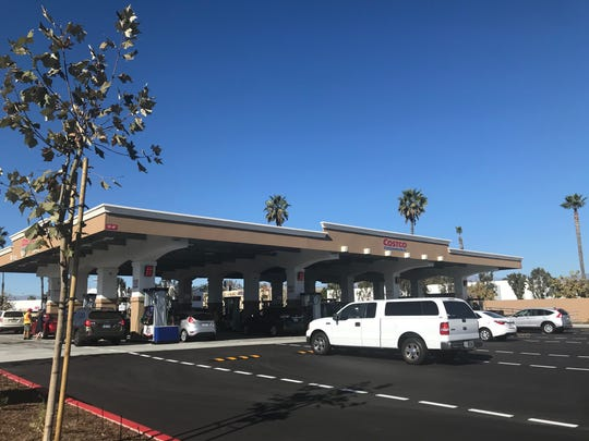 The Oxnard Costco gas station has a new location.