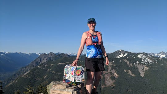 Even though she's completed four ultramarathons (races longer than 26.2 miles), Robin Grapa's first love is long-distance hiking.