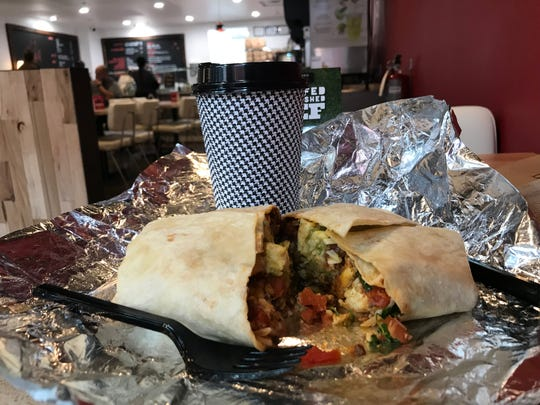 The new El Diablo Burritos on Market Street in downtown Wilmington serves breakfast tacos, burritos and quesadillas starting at 7 a.m. Monday through Saturday.