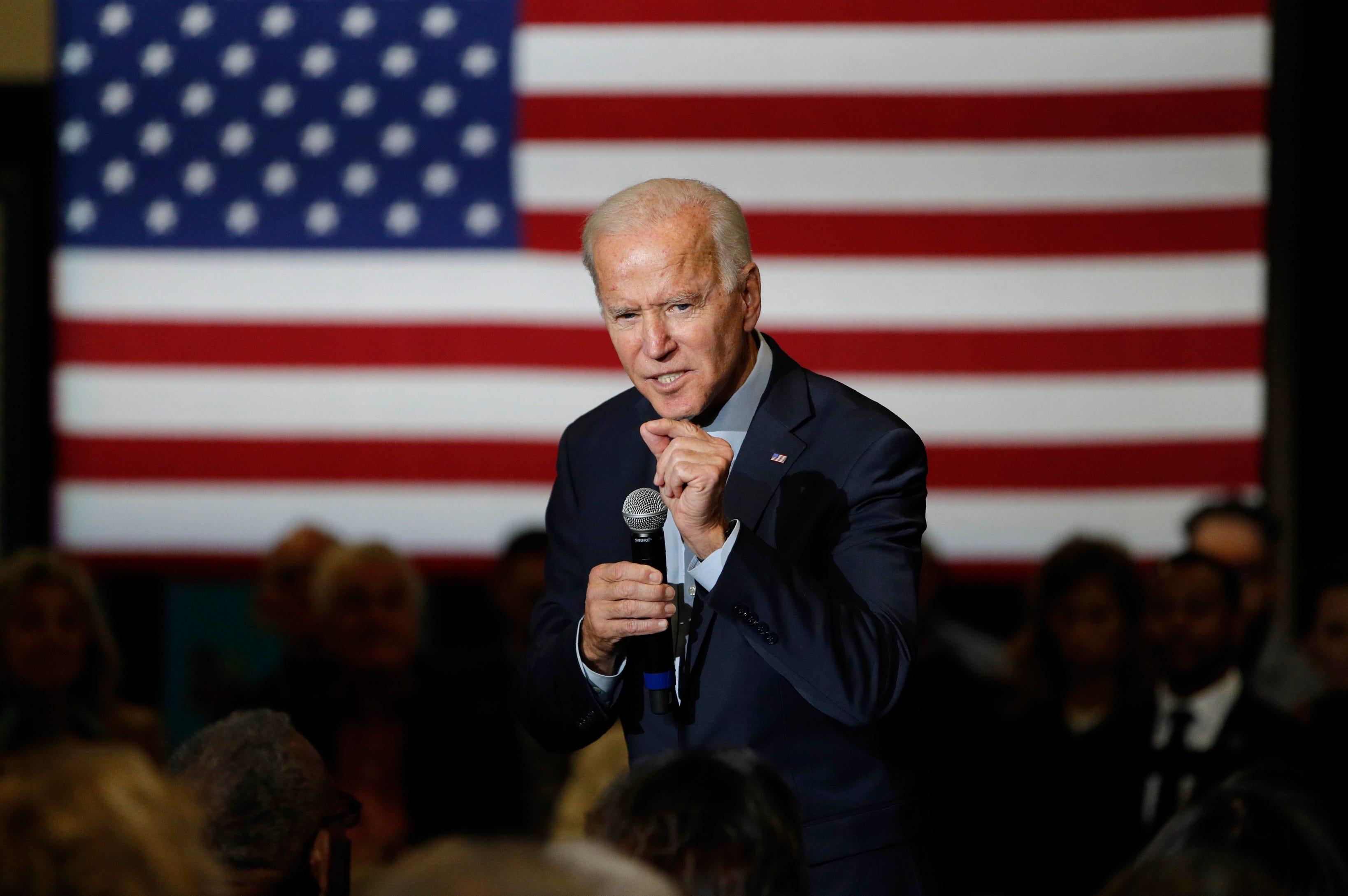 Joe Biden says marijuana may be