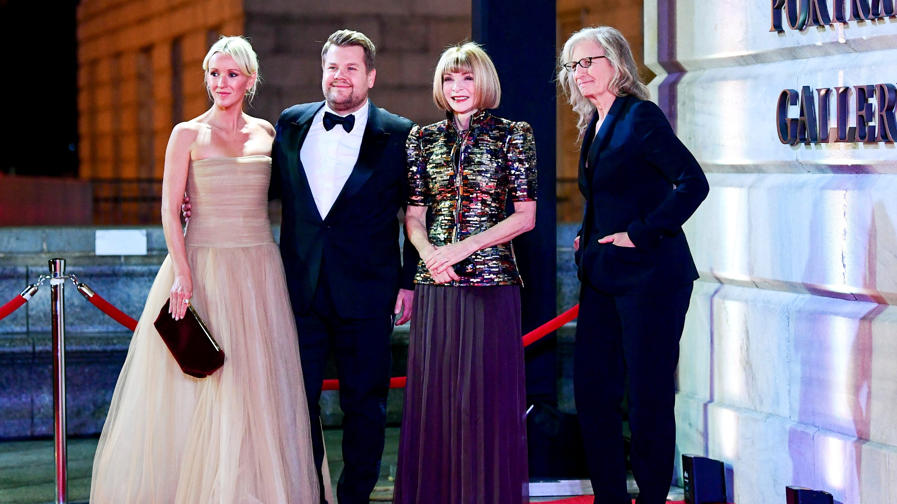 James Corden impersonates Anna Wintour – bob and all; Gayle King dons 'so many Spanx' at gala