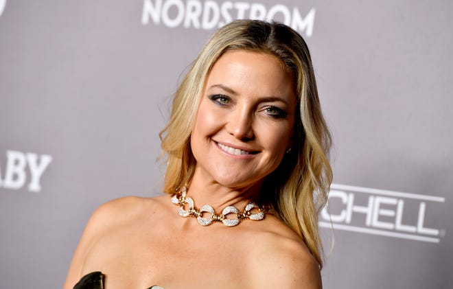 Kate Hudson opens up about weight loss struggles following the birth of Rani Rose.