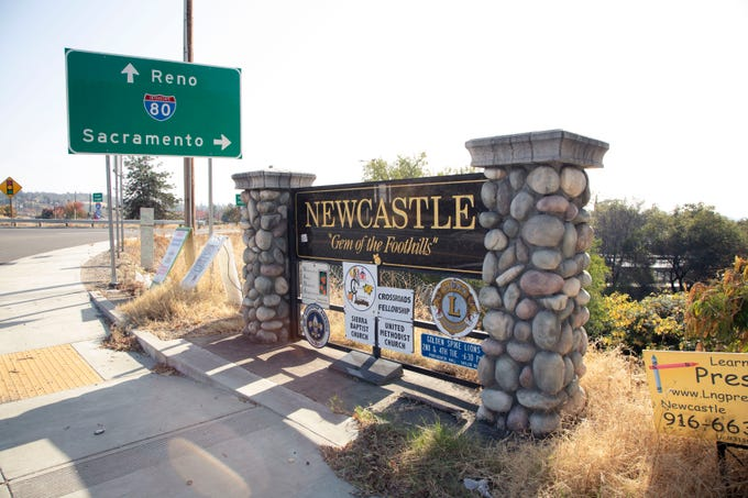 Newcastle, Calif., once a bustling produce hub, now is considered part of the rural digital divide. The town has the slowest Internet speed in the nation.