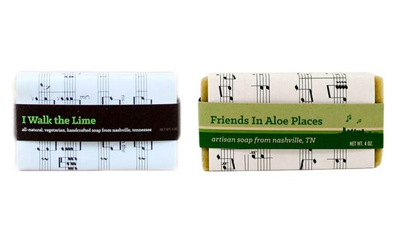 The Tennessean / Reviewed 2019 gift guide: I Walk The Lime and Friends in Aloe Places Soaps