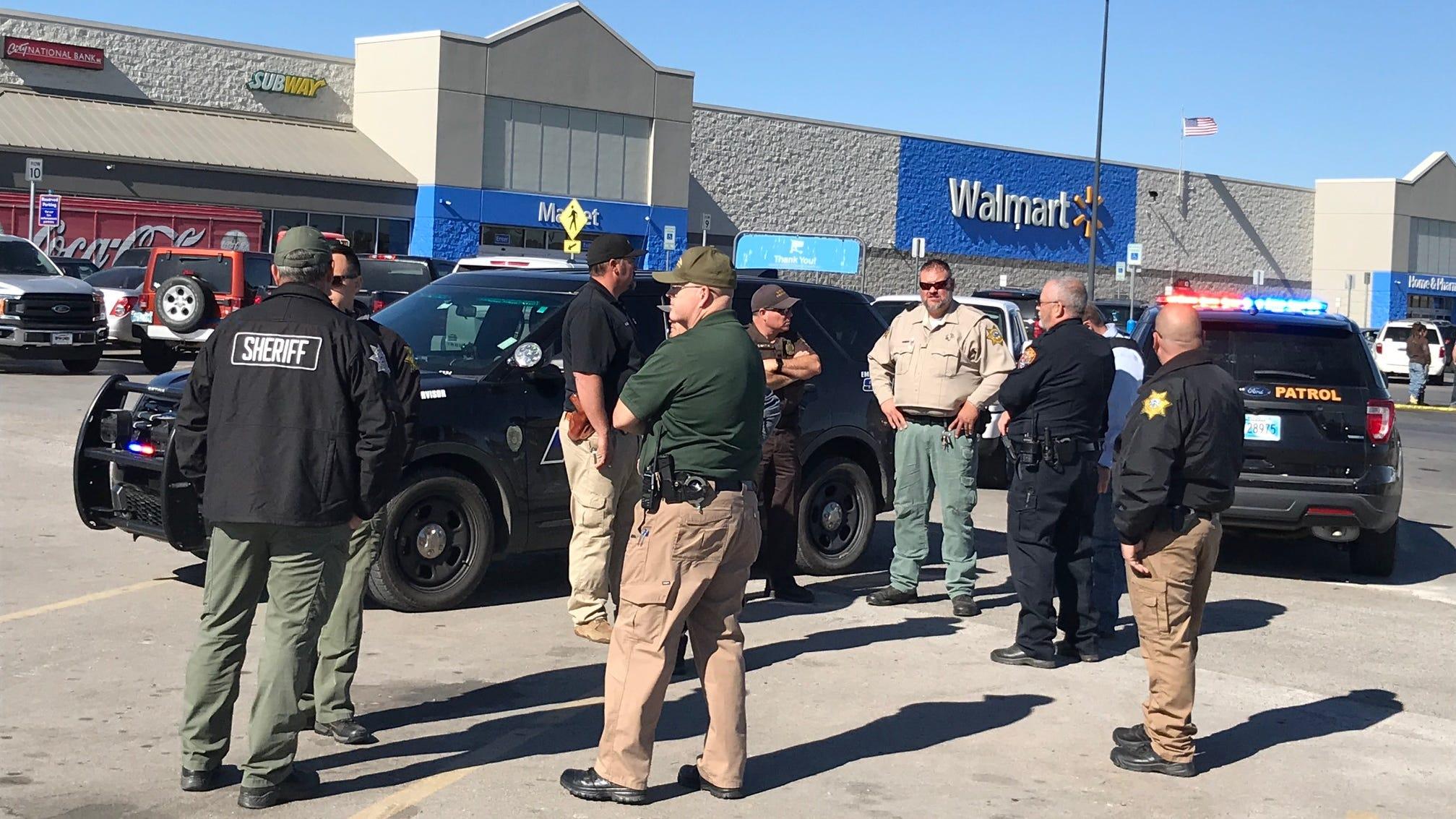 3 dead in shooting at Walmart in Oklahoma