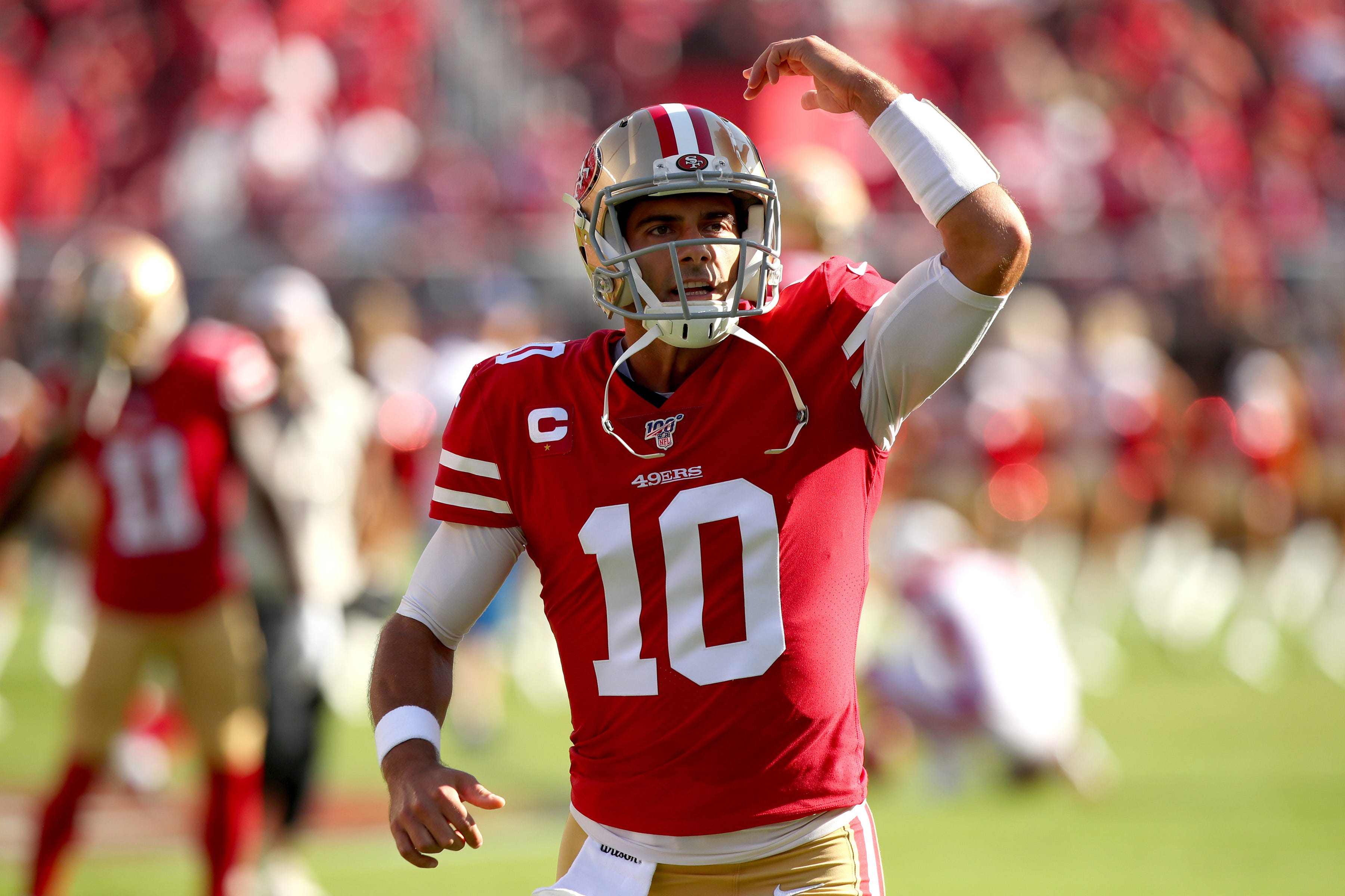 Fantasy football sizzlers, fizzlers: Jimmy Garoppolo among trio of quarterbacks on the rise