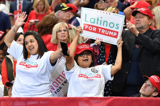 A rally in Dallas on Oct. 17, 2019.