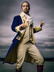 A photograph of Lin-Manuel Miranda which hangs in Washington DC's National Portrait Gallery.