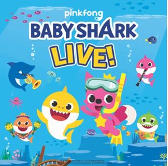 "Tickets for ""Baby Shark Live!"" go on sale at 10 a.m. Friday."