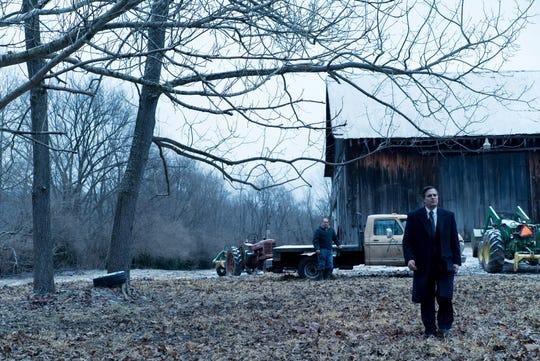 "Bill Camp, left, as Wilbur Tennant and Mark Ruffalo as Robert Bilott in director Todd Haynes' ""Dark Waters,"" a Focus Features release."
