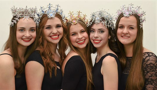 "Five high school seniors will be in their final performances of ""The Nutcracker"" this weekend: From left, Laurel Sanders, Gracie Smith, Elizabeth Fillingim, Anna Kerestly and Nicole Engli."