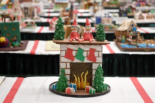 See the winners from the 2019 National Gingerbread House Competition at Omni Grove Park Inn