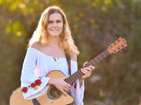Malabar musician Anja Conklin, 20, has been playing music around the Space Coast for years.