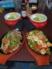 Fajitas at Pineapple Point in Cocoa Beach are amazing, according to Karlyn Moody.