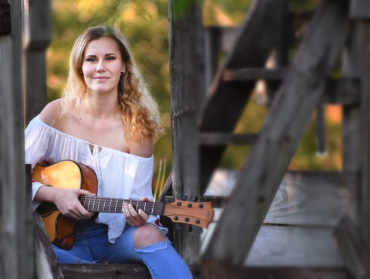 Anja Conklin and her band Green Light will perform in her Malabar backyard Saturday during a Celebration of the Phoenix concert.