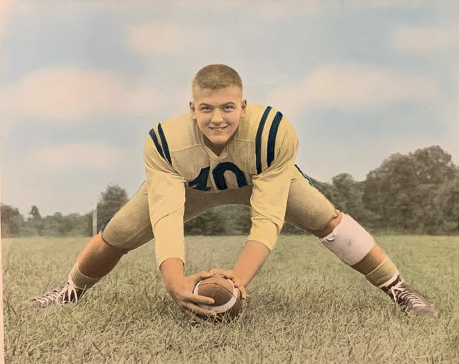 Dave Crossan was the center on Collingswood's most famous team, the Golden Eleven. The squad went undefeated in 1958. Crossan passed away on Nov. 6. He was 79.