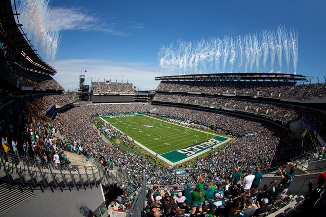 The Camden and Pleasantville high school football teams will resume their sectional semifinal on Wednesday at Lincoln Financial Field.