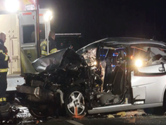A driver was killed in a wrong-way, head-on crash on Ohio 48 in Lebanon late Monday, according to the Ohio State Highway Patrol.