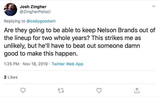 Wrestling Mailbag, Nov. 19, tweet 2