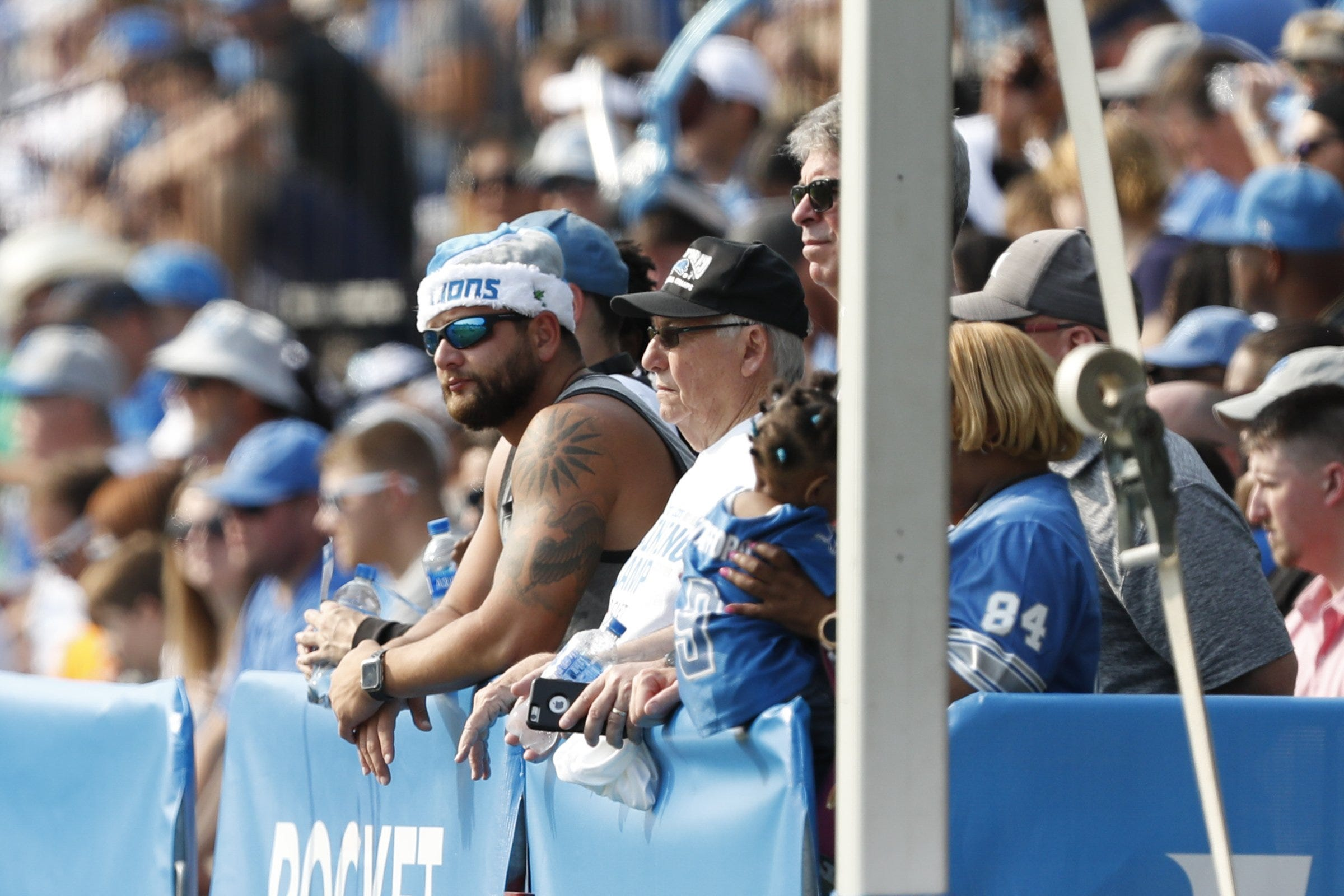 Detroit Lions considering moving training camp to West...