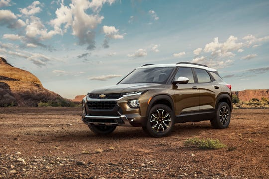 Chevrolet prices 2021 Trailblazer SUV at under $20,000