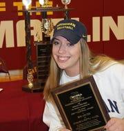 Farmington Hills Mercy senior Jess Mruzik, named Michigan Miss Volleyball on Nov. 18, 2019.