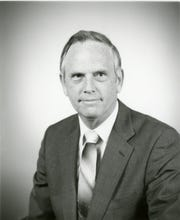 Chrysler Corp. Vice President Glenn E. White is pictured in an undated photo.