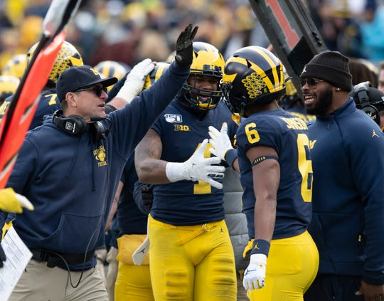 Since the second half of the Penn State game on Oct. 19, Michigan has outscored its opponents, 141-38.