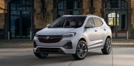The 2020 Buick Encore GX, which premieres Wednesday in Los Angeles, will fit in Buick's lineup between the tiny Encore and compact Envision.