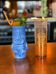 The bar at Longboard will serve draft cocktails, frozen drinks, mocktails and tiki drinks.