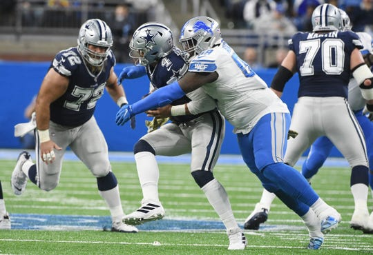 The Lions gave up 509 yards of total offense to the Cowboys on Sunday, including five scoring drives of at least 70 yards.