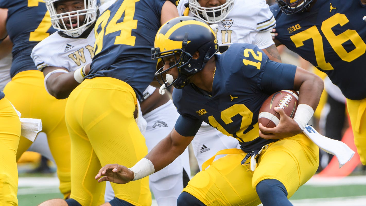 Michigan running back Chris Evans 'humbled' by time away from team, school