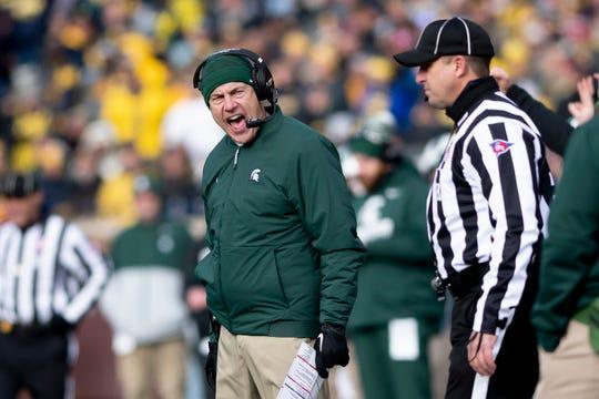 Mark Dantonio on Tuesday says he plans to return as Michigan State's head football coach next season.