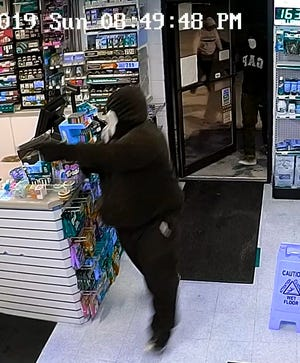 City of Fond du Lac Police posted a photo from surveillance footage of the Phillips 66 armed robbery on Nov. 10 to its Facebook page,  asking for the public to help identify the suspects pictured.