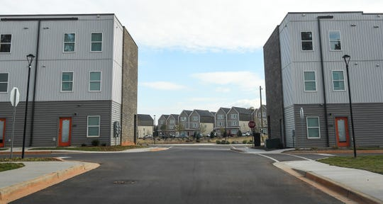 Student living at the newly opened EPOCH Clemson apartments just outside Clemson in Seneca.