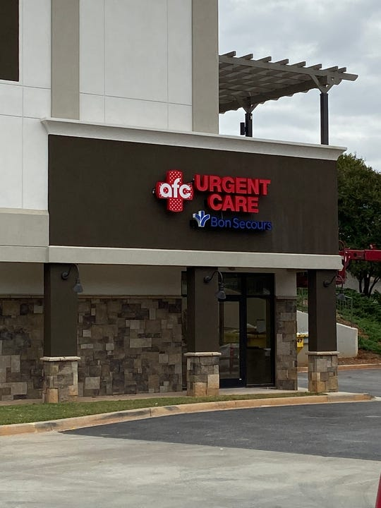 AFC Urgent Care Bon Secours opens a new center on Pelham Road in Greenville Friday.