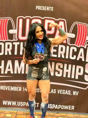Desiree Eay, a personal trainer from Guam, won the open raw and raw submaster divisions in the 56-kilogram weight class, and was also named best raw lifter overall.
