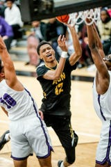 Avon junior Jayden Brewer (12)