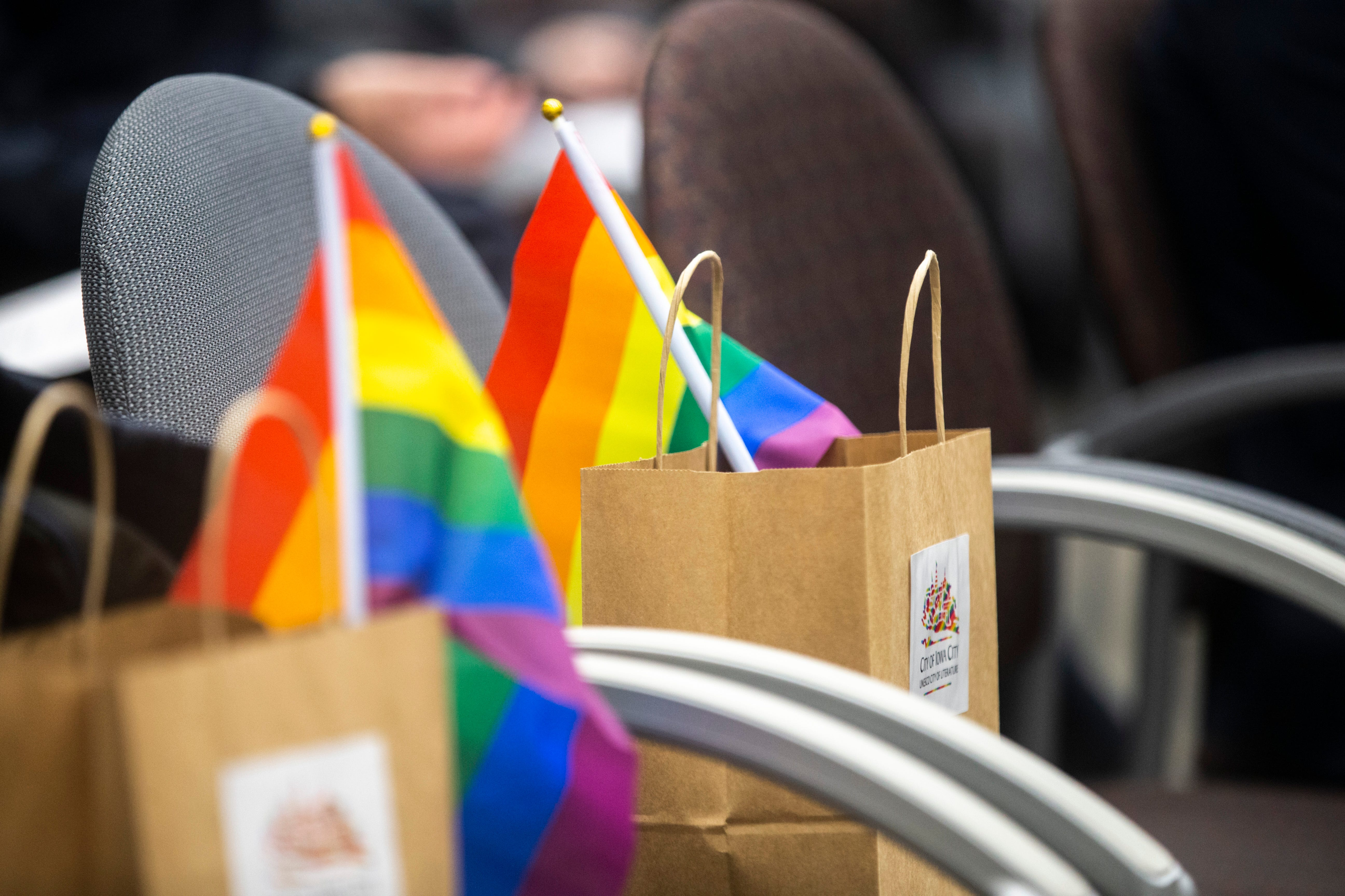 Photos: Human Rights Campaign gives Iowa City perfect score on Municipal Equality Index