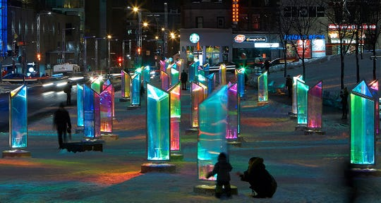 Prismatica at Place des Festivals in Montreal.