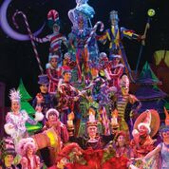 Cirque Dreams Holidaze comes to the Tennessee Theatre Dec. 3-4.