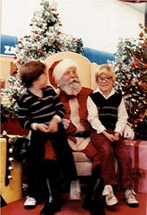FILE PHOTO -- Don Stoike portrays Santa Claus