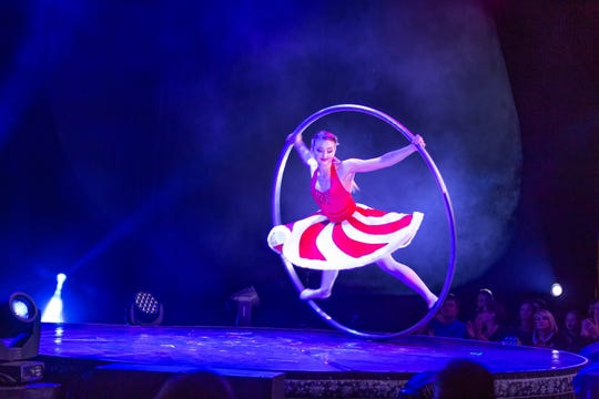 CAPA presents A Magical Cirque Christmas at the Palace Theatre (34 W. Broad St.) at 7 p.m.Sunday, Dec. 15.